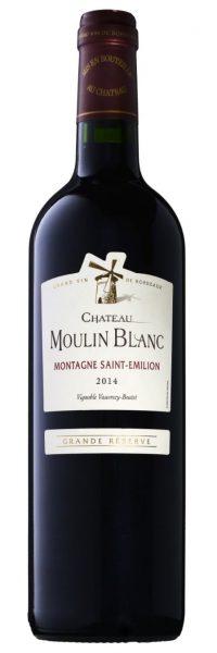Château Moulin Blanc - Aoc Montagne St-Emilion Bio