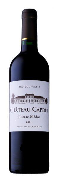 Château Capdet Aoc Listrac-Médoc Cru Bourgeois